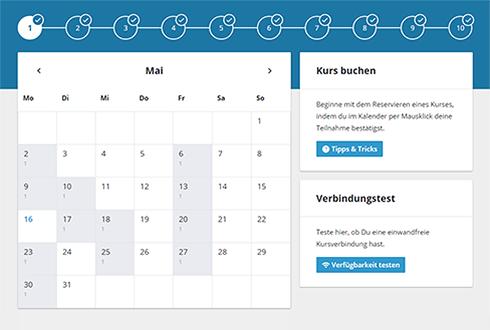 Emoree Kurs Kalender